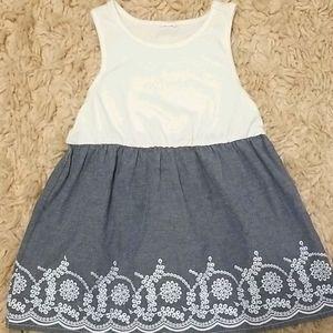 Gap Chambray Summer Dress